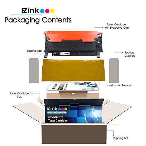 E-Z Ink (TM) Compatible Toner Cartridge Replacement For Samsung 404 404S CLT-K404S (2 Black) Compatible With Xpress C430W C480FW Printer Photo #6