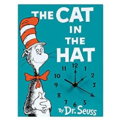 Trend Lab Dr. Seuss Wall Clock, Multi, The Cat in the Hat