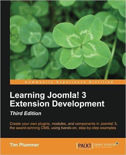 Desarrollo de extensiones en Joomla