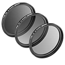 Neewer for DJI Zenmuse X5 X5R Camera/Inspire 1 PRO, RAW Quadcopter Filter Kit with Multi-coated and Ultra High Definition Glass, Includes Ultraviolet UV, Polarizer CPL, and Neutral Density ND8 Filter
