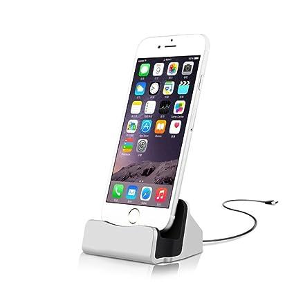 Estación de carga para mesa con cable, adecuada para iPhone de la ...