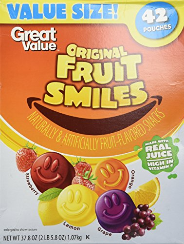 Great Value Original Fruit Smiles product image