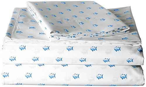 Southern Tide Printed Cotton Sheet