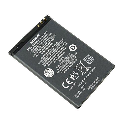 Battery Packs Nokia Original BP-3L Lumia 710 Li-Polymer 1300 mAh (3l Nokia Bp)