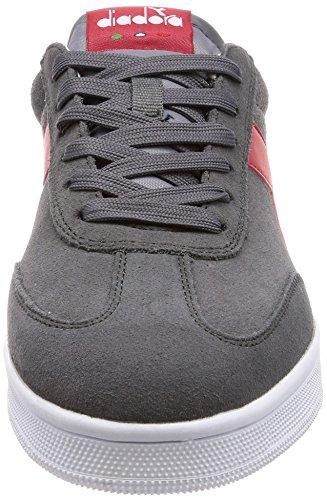 Diadora Uomo Field Grigio 75070 Sneaker Acciaio Yf04wzqP0n