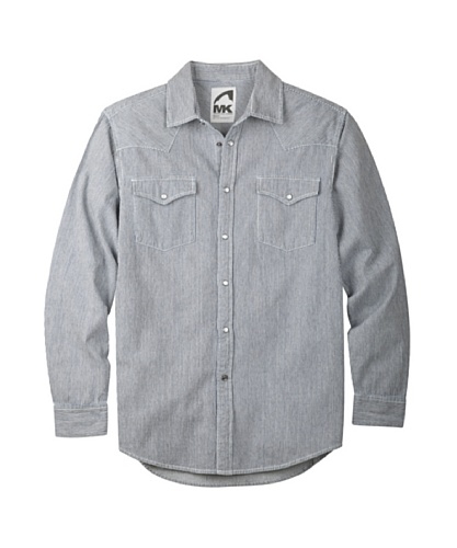 Mountain Khakis Men's Original Mountain Denim Shirt, Railroad, ()