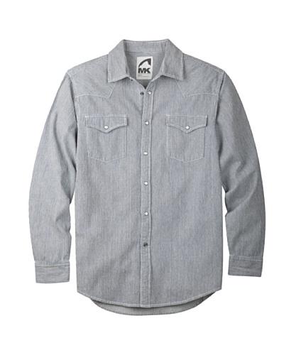 (Mountain Khakis Men's Original Mountain Denim Shirt, Railroad, X-Large)