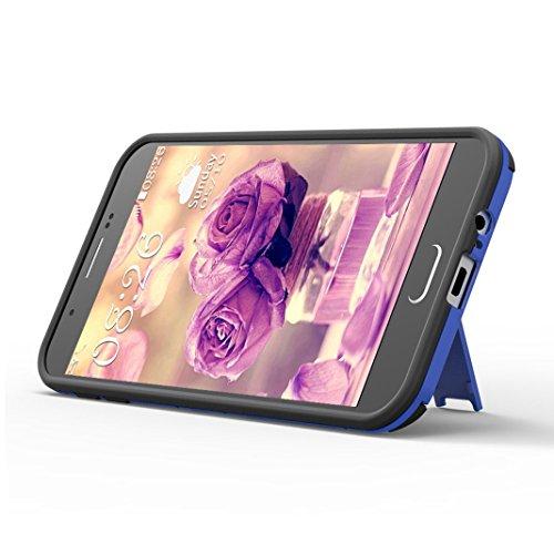 Funda Samsung Galaxy S7 Edge, Samsung G9350 Caso, Rosa Schleife Liquid Crystal Cubierta suave de TPU + Papel brillo Hybrid 2 in 1 Bling Funda Ultra Slim Premium Silicona Carcasa Funda para Samsung Gal Negro