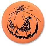 #8: Innova Limited Edition 2018 Halloween Pumpkin Stamp Color Glow DX RocX3 Mid-Range Golf Disc