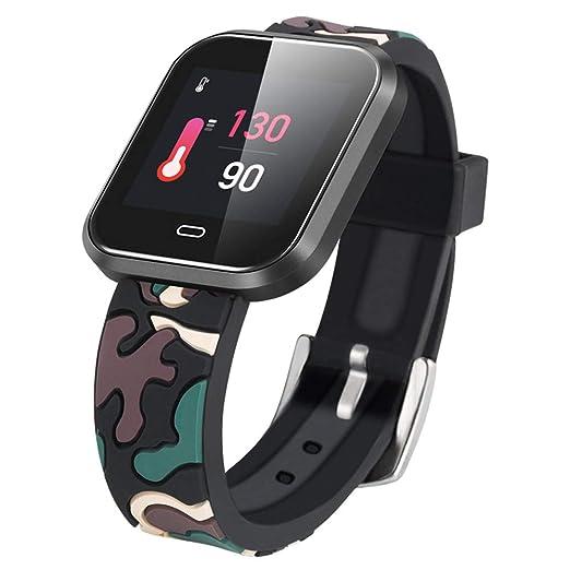 Pantalla a Color Slimy Reloj Inteligente a Prueba de Agua IP67 Monitor de frecuencia cardíaca Bluetooth