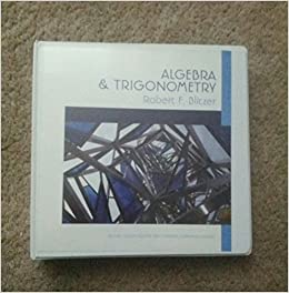 Algebra trigonometry second custom edition for tidewater community algebra trigonometry second custom edition for tidewater community college robert f blitzer 9781269352437 amazon books fandeluxe Choice Image