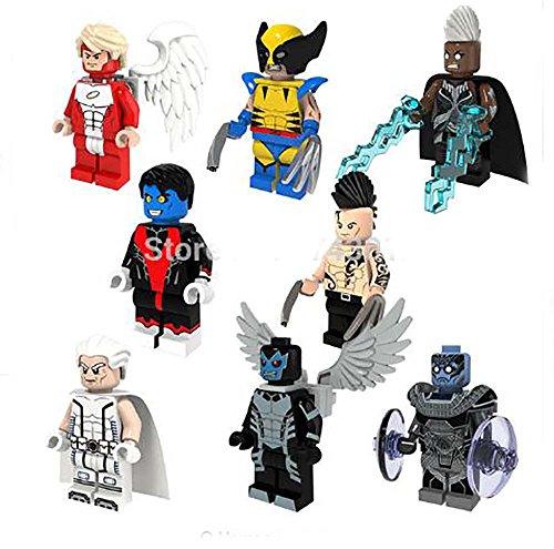 8pcs-lot-pogo-marvel-super-heroes-x-man-minifigures-apocalypse-archangle-nightcrawler-building-block