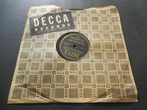 Vintage Collectible Dancing Glass - Guy Lombardo, Blue Dancing Shoes, Decca 28751 78 RPM Vinyl NM