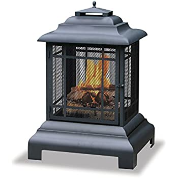 Endless Summer, WAF501CS, Black Firehouse With Protective Cover, Large