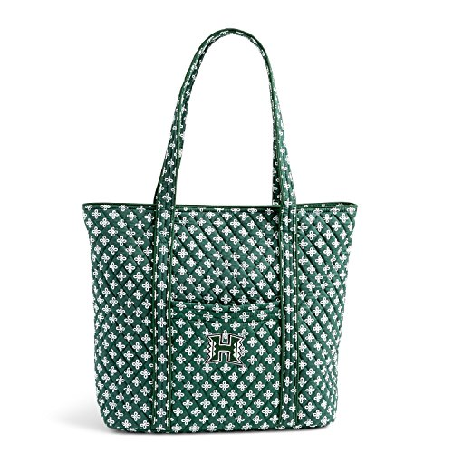 NCAA Hawaii Rainbow Warriors Women's Classic Tote, Dark Green/White, One Size (Hawaii Green Green Warriors)