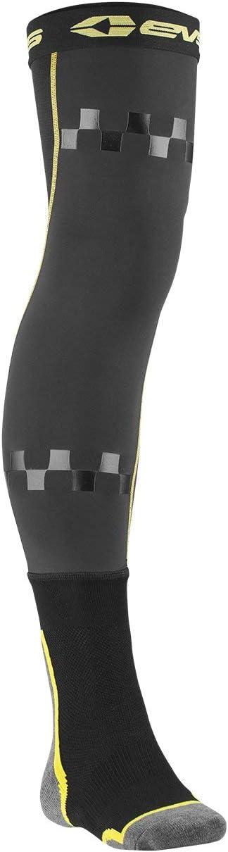 Black//Hi-Viz, Small//Medium EVS Sports FSN-HIVIZ-S//M  Unisex-Adult Fusion Socks//Sleeve Combo