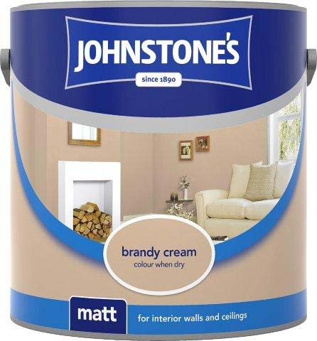 - Johnstone's Matt 2.5L Brandy Cream by Johnstone's