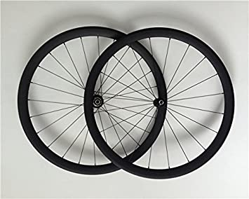 YouCan bicicleta 700 C Tubular de carbono Ruedas de bicicleta de ...