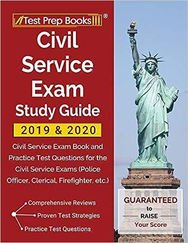 Civil Service Exam Study Guide 2019 & 2020: Civil Service