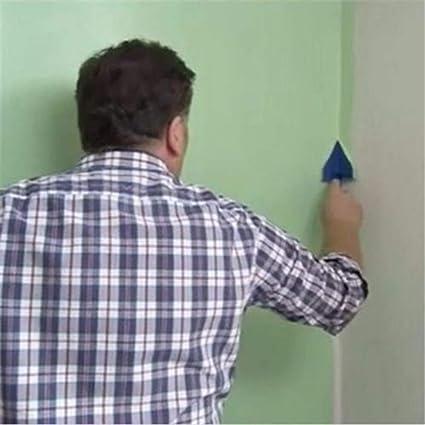 bureau peinture outils de d/écoration pour maison Lot de 8 pinceaux d/'impression murale multifonctionnels pour peinture couloir mat/ériel de peinture murs et plafonds impression murale