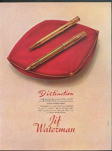 distinction-waterman-jif-fountain-pen-ad-1950-in-french