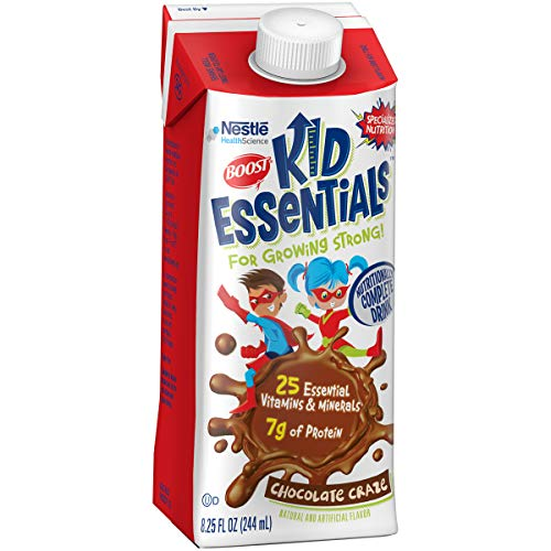 Boost Kid Essentials Nutritionally Complete Drink, Chocolate Craze, 8.25 Fl. Oz box, 16 Pack