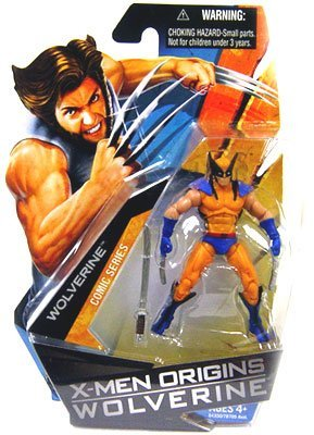 Wolverine X-men Origins Game Costumes (X-Men Origins Wolverine Action Figure Wolverine with Blue and Yellow Suit 84350)