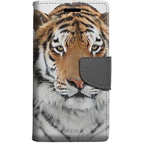 Samsung Galaxy S7 Edge Wallet Case - Orange Tiger Case Sales