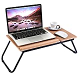 Ansley&Hosho Foldable Laptop Stand Riser on Desk Mini Table for Bed Sofa Multifunctional Tray for Eating Computer Desk for PC Tablet Book Storage