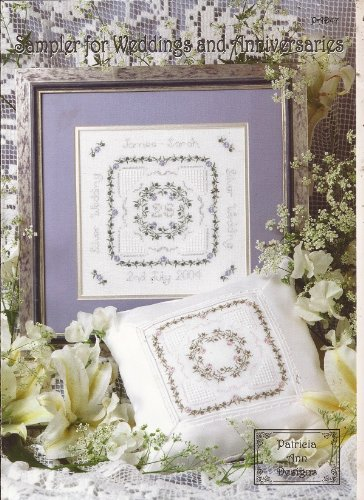 Sampler for Weddings and Anniversaries Cross Stitch