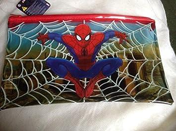 Marvel Ultimate Spiderman estuche grande transparente para lápices de vuelta a la escuela: Amazon.es: Bricolaje y herramientas
