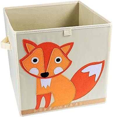 LEADSTAR Plegado Niños Juguetes Caja de almacenaje Animal Caja No ...