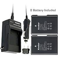 Kastar EN-EL14 Battery (2-Pack) and Charger for Nikon ENEL14 EN-EL14a MH-24 and Nikon Coolpix P7000 P7100 P7700 P7800 D3100 DSLR D3200 DSLR D3300 DSLR D5100 DSLR D5200 DSLR D5300 DSLR Df DSLR Cameras