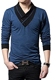 9530281d1c2 Seven Rocks Regular Fit Men s Cotton T-Shirt (T16)  Amazon.in ...