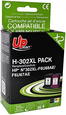 Cartouche pour imprimante - Cartouches compatibles HP 302XL (Noir + Couleur) - Cartouches dencre couleur (cyan, magenta, jaune) et noir compatible HP 302XL (330 + 480 pages): Amazon.es: Informática