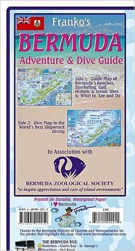 Bermuda Adventure & Dive Guide Franko Maps Waterproof Map: Franko ...