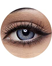 Anesthesia Anesthetic Diamond Unisex Contact Lenses, Anesthesia Cosmetic Contact Lenses, 6 Months Disposable - Anesthetic Diamond (Grey and Blue Color)