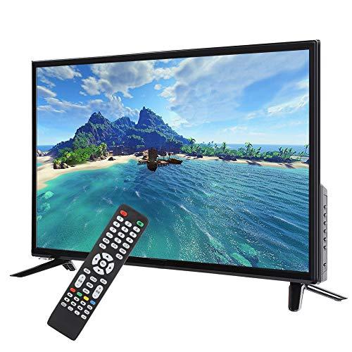 ASHATA 32-Zoll-HD-LCD-Smart-TV 1366 * 768 Ultra-schmaler Bildschirm Unterstützt HDR-Echtzeitkonvertierung, USB-HDMI-HF…