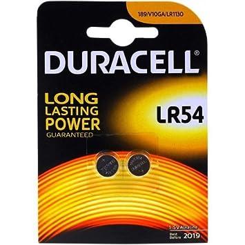 Pile-bouton Duracell type réf. AG10 (2 unités sous blister)  Amazon ... 420eb0594d6a