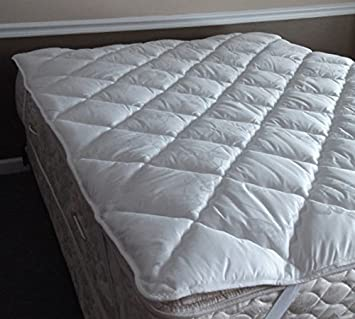 pillow top mattress pad. Jensen\u0027s Thermoshield Pillow Top Mattress Pad (Waterbed Qn 6084)