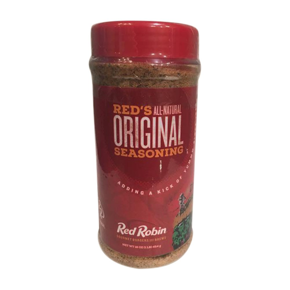Red Robin All-Natural Original Seasoning 16oz for your Gourmet Burgers and your Favorite Foods