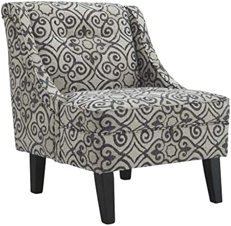 Signature Design by Ashley – Kestrel Wrought Patterened Accent Chair, Iron