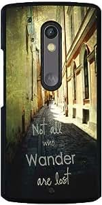 Funda para Motorola Moto X Play - No Todos Los Que Vagan by J McCool