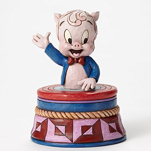 Jim Shore Looney Tunes Porky Pig Treasure Box 4053085 New