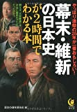 幕末・維新の日本史が2時間でわかる本 (KAWADE夢文庫)