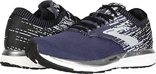 Brooks Men's Ricochet Greystone/Grey/Navy 9 D US