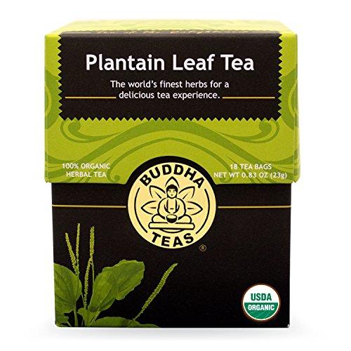 Buddha Teas Plantain Leaf Count