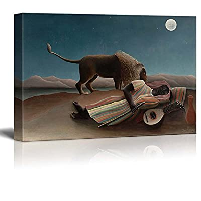 Unbelievable Style, Created By a Professional Artist, The Sleeping Gypsy by Henri Rousseau