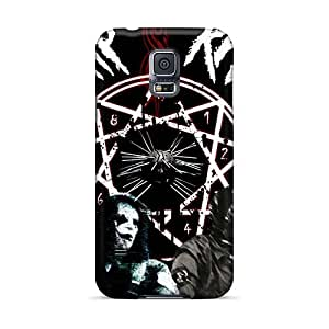 Samsung Galaxy S5 Wpb7128udhA Unique Design Nice Metallica Series Shock-Absorbing Cell-phone Hard Cover -EricHowe