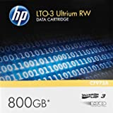 HP C7973A LTO3 Ultrium 800G 120 MB/sec Compressed Transfer Rate Ultrium RW Data Cartridge